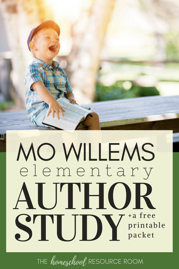 Mo Willems Author Study +8 Page FREE Printable Pack!